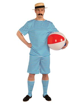 Adult Beachside Clyde Swimsuit Costume Couples Costume