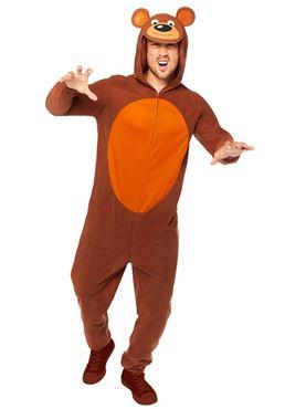 Adult Bear Onesie Costume