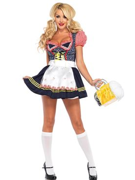 Adult Beer Stein Babe Costume