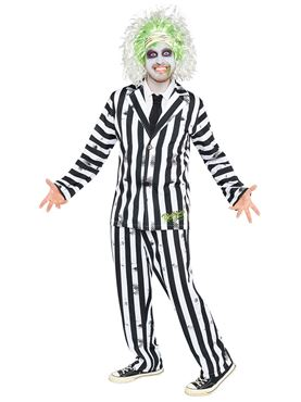 Adult Mens Beetlejuice Costume Couples Costume
