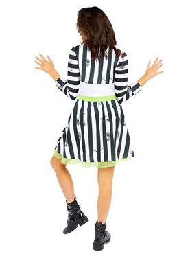 Adult Ladies Beetlejuice Costume - Side View