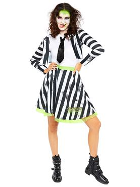 Adult Ladies Beetlejuice Costume