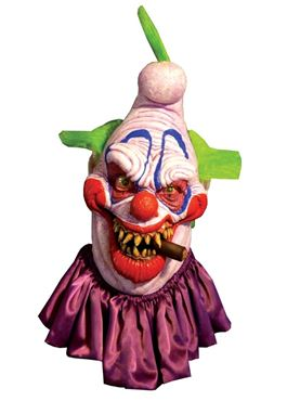 Adult Deluxe Big Boss Clown Latex Mask