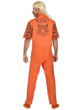 Adult Big Cat Convict Costume - Back View