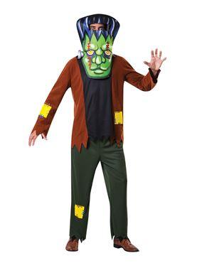 Adult Big Head Frankenstein Costume