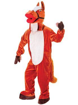 Adult Big Head Horse Costume