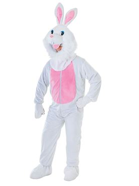 Adult Big Head Rabbit Costume