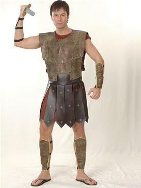 Adult Warrior Man Costume