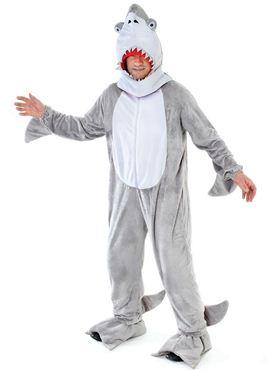 Adult Big Head Shark Costume