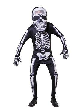 Adult Big Head Skeleton Costume