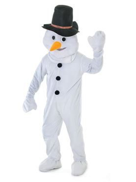 Adult Big Head Snowman Costume