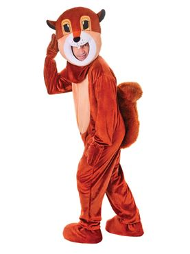 Adult Big Head Squirrel Costume