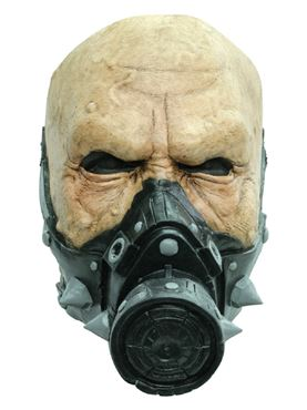 Adult Biohazard Agent Latex Mask
