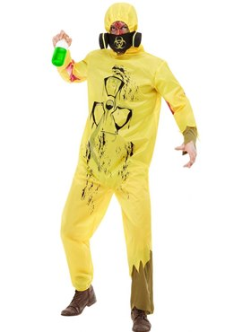 Adult Biohazard Suit Costume