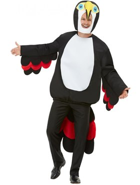 Adult Bird Of Paradise Toucan Costume