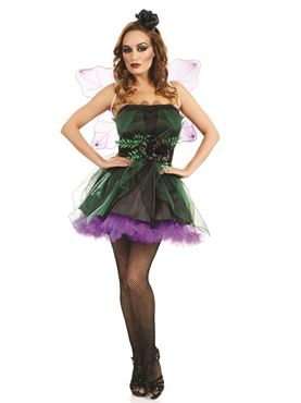 Adult Dark Fairy Nymph Costume