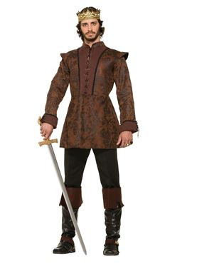Adult Deluxe Medieval Kings Coat