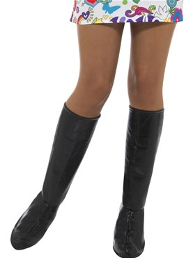 Adult Black GoGo Boot Covers