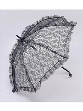 Adult Black Lace Victorian Parasol
