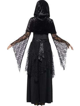 Adult Black Magic Mistress Costume - Side View