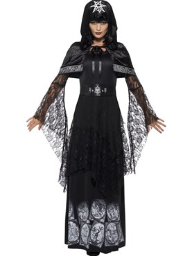 Adult Black Magic Mistress Costume Couples Costume
