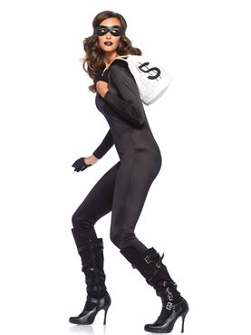 Adult Black Spandex Catsuit Costume