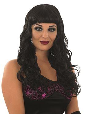 Adult Black Temptress Wig
