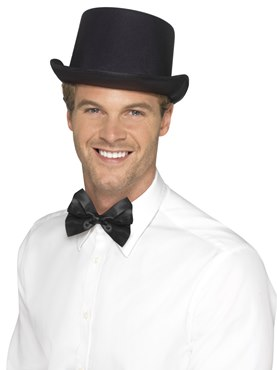 Adult Black Top Hat