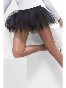 Adult Black Tutu Underskirt