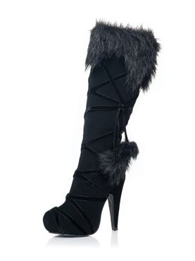 Adult Black Warrior Boots