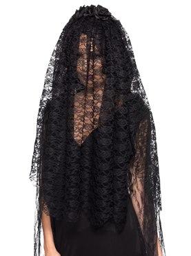 Adult Black Widow Veil
