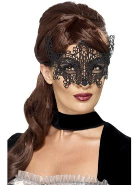 Adult Swirl Embroidered Eyemask