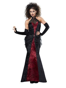 Adult Black Widow Woman Costume