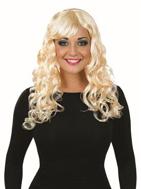 Adult Blonde Temptress Wig