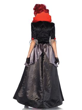 Adult Blood Countess Costume - Back View