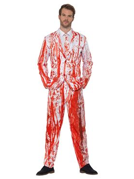Adult Blood Drip Stand Out Suit - Side View