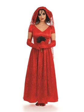 Adult Blood Red Bride Costume
