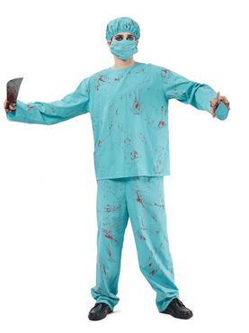 Adult Blood Splattered Surgeon Costume