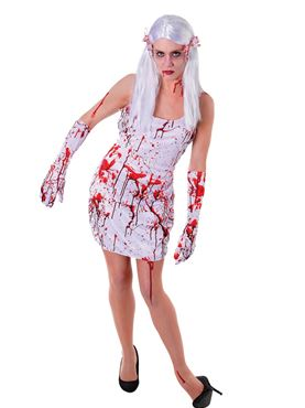 Adult Bloody Dress Couples Costume