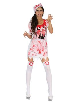 Adult Bloody Nurse Costume