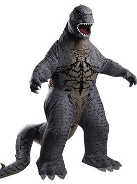 Adult Blow Up Godzilla Costume