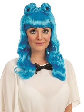 Adult Blue Cosplay Wig