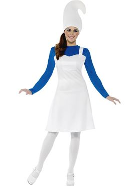 Adult Blue Garden Gnome Costume