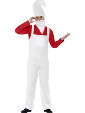 Adult Red Garden Gnome Costume