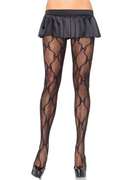 Adult Bow Lace Tights