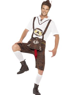 Adult Brad Wurst Bavarian Costume