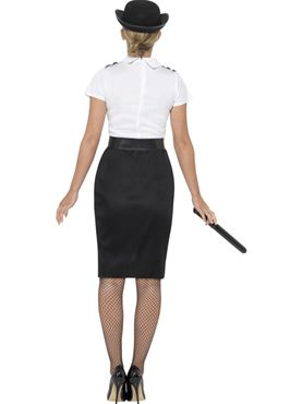 Adult British Police Lady Costume - Side View