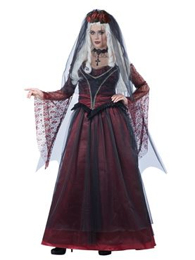 Adult Immortal Vampiress Costume Couples Costume