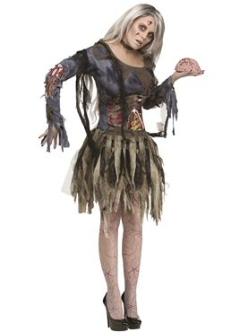 Adult Zombie Lady Costume