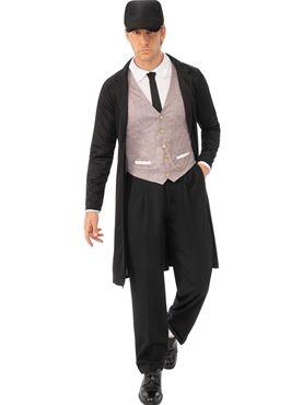 Adult Brummie Gangster Costume